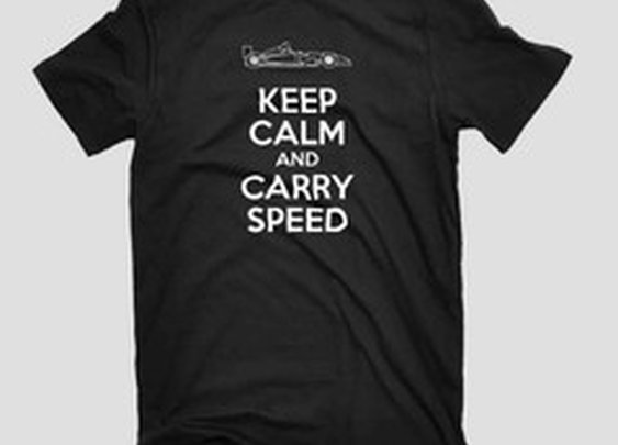 Keep Calm & Carry Speed