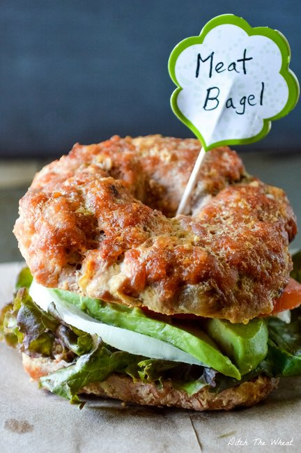 Meat Bagels | Ditch The Wheat