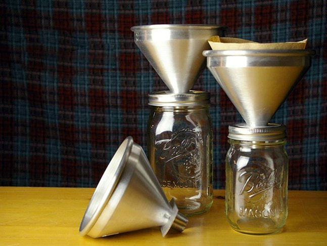 Pour Mason – Pour Over Coffee Attachment for Mason Jars | Cool Material