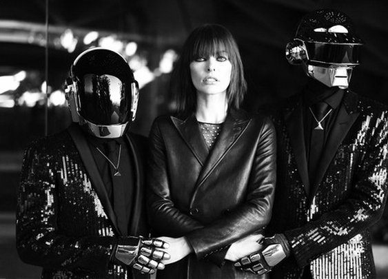 CR Fashion Book, DIGITAL LOVE A tale of desire starring Daft Punk...