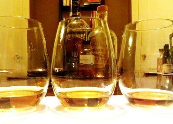Blind Tasting Rye Whiskey