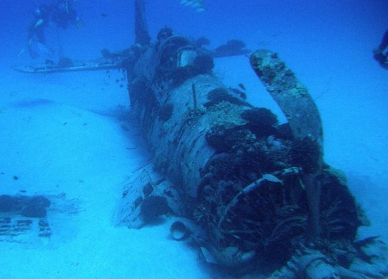 How Underwater Drones Are Searching For the Lost Pilots of WWII