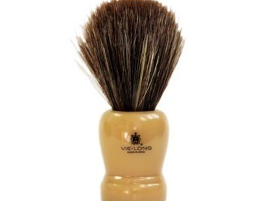 Butterscotch Horse Hair Shaving Brush
