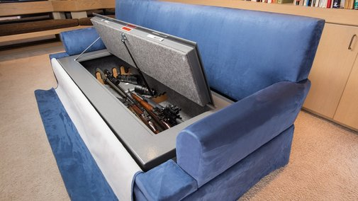 Finally, A Bulletproof Couch You Can Fill With Guns