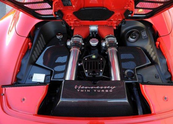 HPE700 Twin Turbo Upgrade | Ferrari 458 | Hennessey Performance