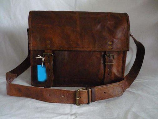 Best brown leather messenger bags for men by Indianstreet on Etsy
