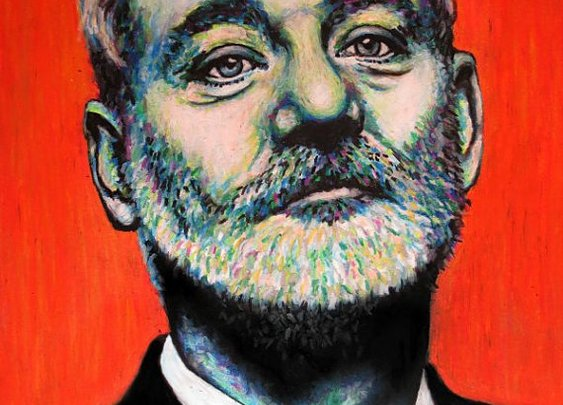 Bill Murray Pop Art Print  11x14 Portrait by ARTWORKbyMALLORY