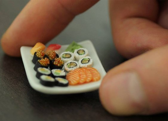 Miniature Sushi looks good enough to eat