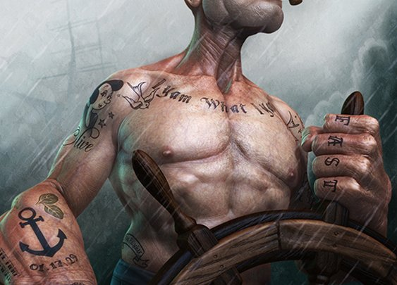 """Popeye by Lee Romao 
