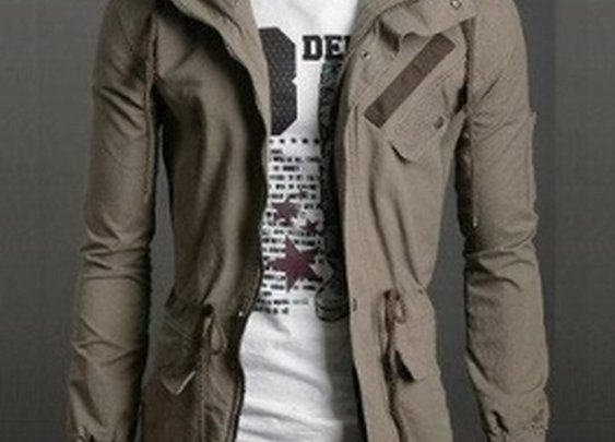 Men 's Casual Hooded Jacket