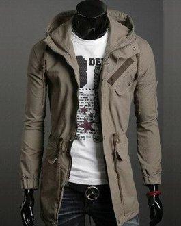 Men 's Casual Hooded Jacket