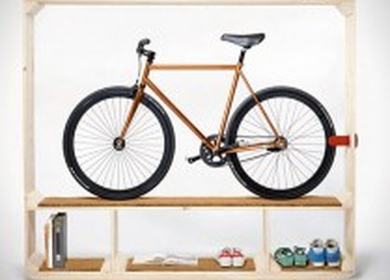 Shoes Books and a Bike Storage Shelf | HiConsumption