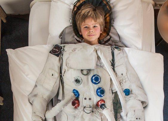 Snurk beddengoed - Astronaut