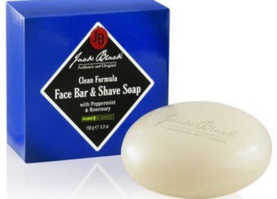 Jack Black Clean Formula Face Bar & Shave Soap