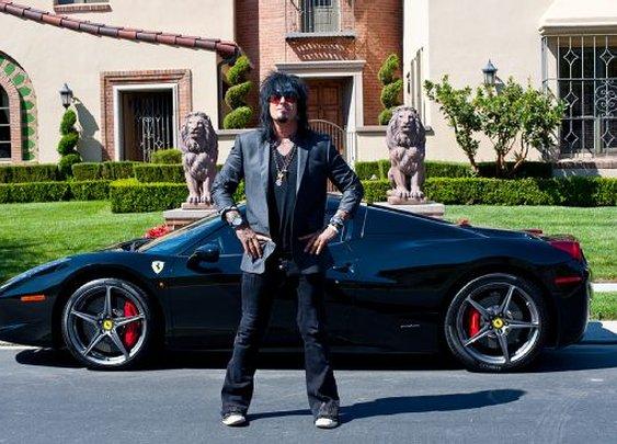 Celebrity Drive: Nikki Sixx - Motor Trend