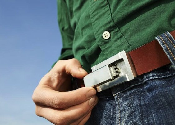 The Buckle Puffer Belt | The Gadget Flow