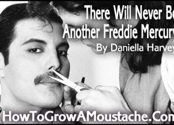 There Will Never Be Another Freddie Mercury | How to Grow a Moustache