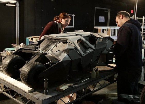 The incredible miniature vehicles used in The Dark Knight