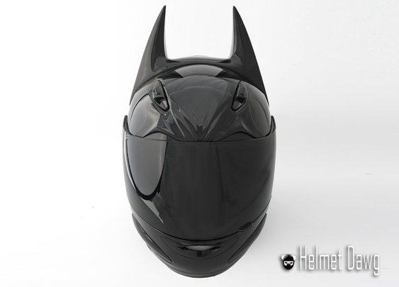 Batman Inspired Dark As Night Helmet
