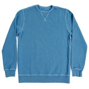 Blue Agave Cotton & Linen Terry Crewneck