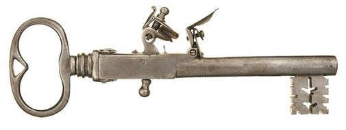 Mini Key Guns: How Jailers Used to Keep Prisoners in Check