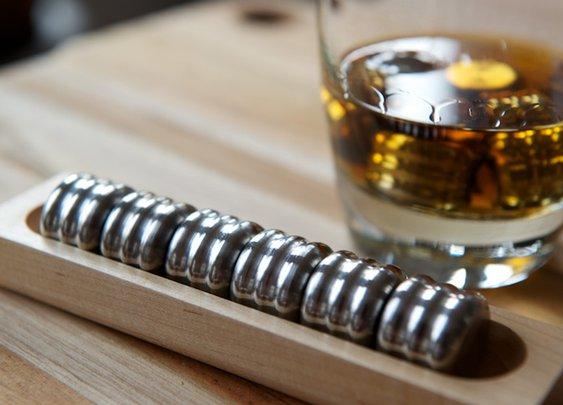 Pucs, Steel Beverage Stones To Cool Drinks