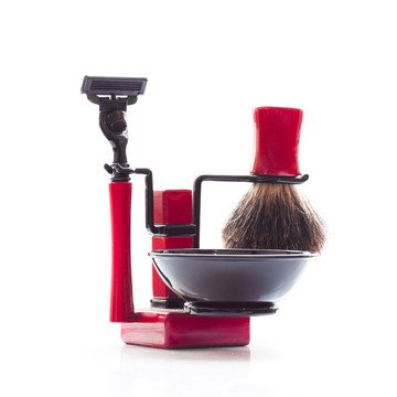 Axwell RBSB Shaving Set Red by Axwell USA | Fab.com