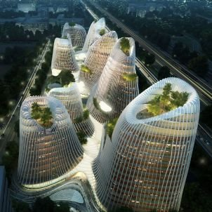 Chinese Architect Ma Yansong Brings Green Futurism to Europe - SPIEGEL ONLINE