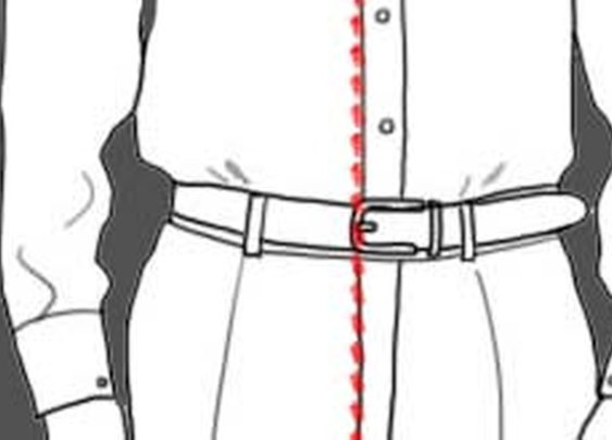 The Gig Line: Harmonising shirt, belt and pants - A Good Man