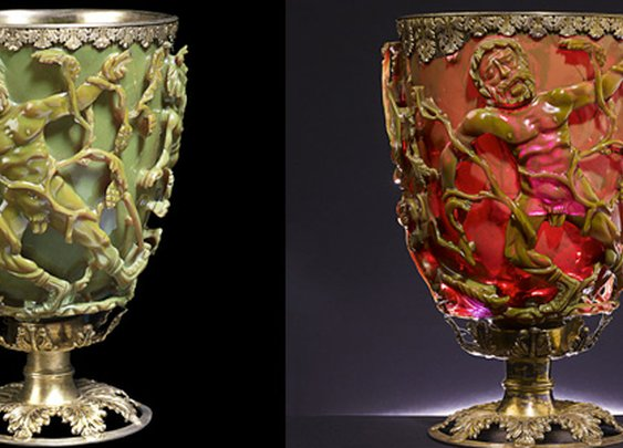 This 1,600-Year-Old Goblet Shows Romans Used Nanotechnology