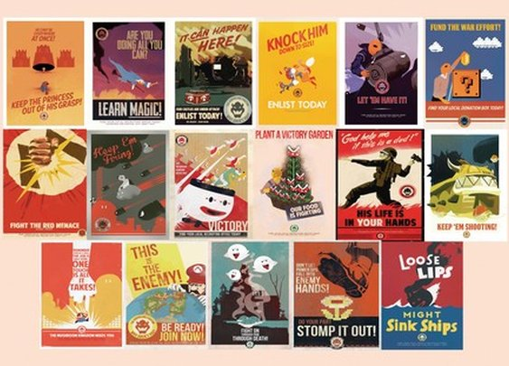 Mario WW2 Propaganda — Fro Design Company