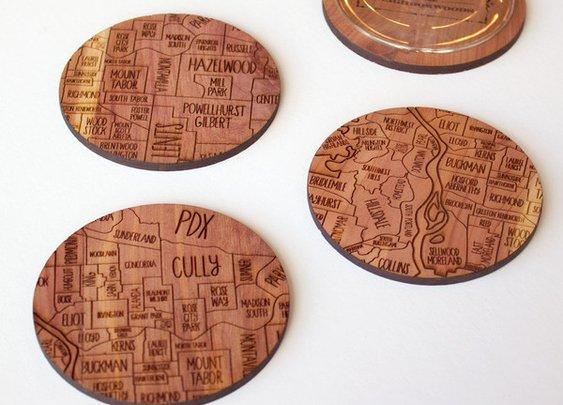 Portland coasters – Neighborwoods