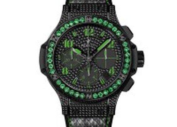 Big Bang Black Fluo Green by Hublot