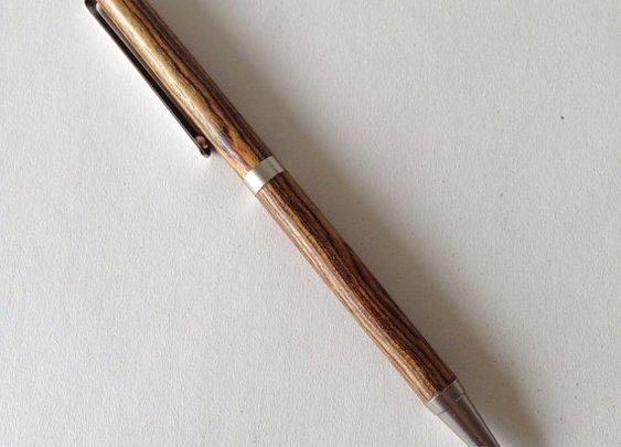 Wood Pen by RoaringShepherd on Etsy
