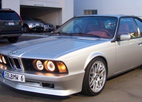 Custom 1988 BMW 635 CSi