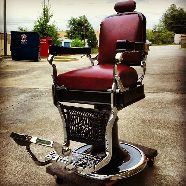 Antique Barber Chairs and Parts - Antique Barber Chairs And Parts  Gentlemint - Antique Barber Chair - Antique Barber Chair Parts Antique Furniture