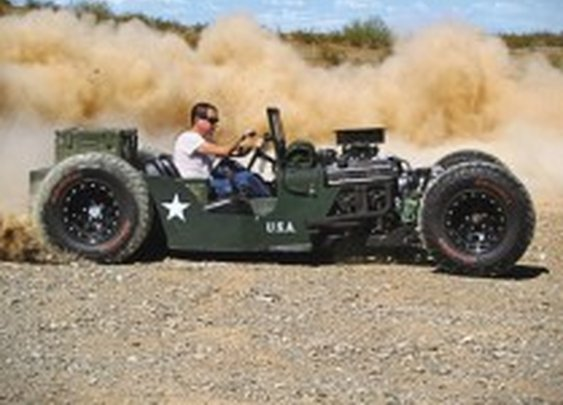 1945 Willys Jeep Rat Rod | HiConsumption