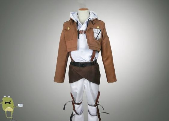 Attack on Titan Cosplay Jacket Annie Leonhardt Costume