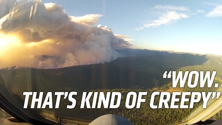 What It's Like To Fight The Yosemite Fire From The Air