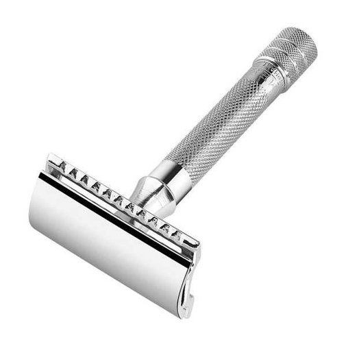 Merkur 33C Safety Razor, Classy choice with a knurled handle