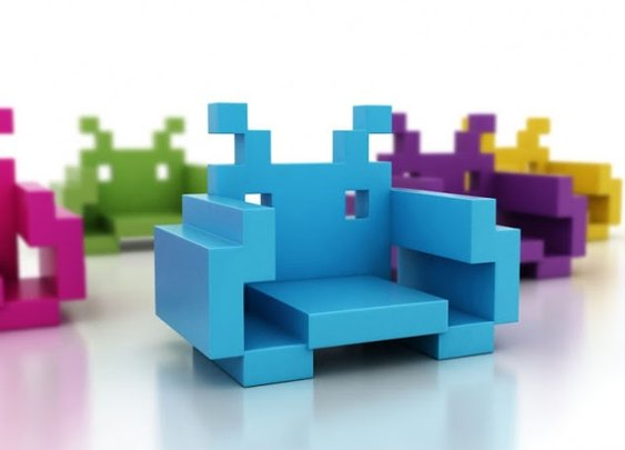 Space Invader Chairs