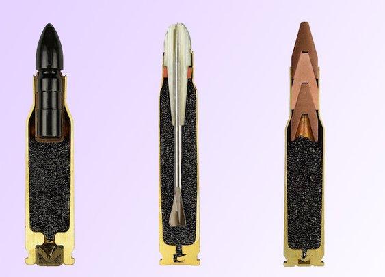 Bullets Precisely Split in Half
