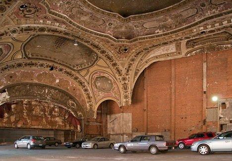 Detroit's Michigan Theater: A Most Beautiful Parking Lot