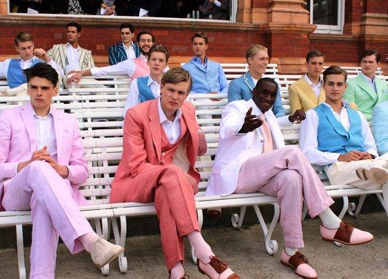 Pink Shirts & London Tailors