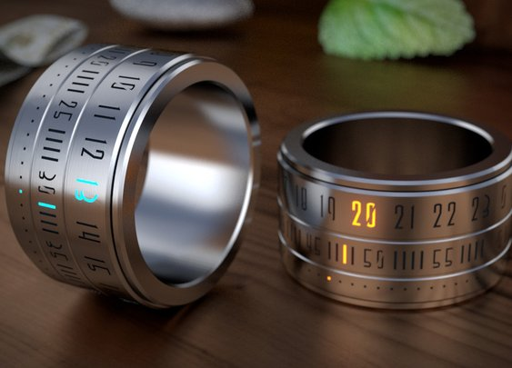 Ring Clock | That Should Be Mine