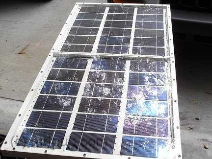 How I built an electricity producing Solar Panel