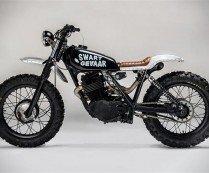Honda XL500 Swart Gevaar by Los Muertos Motorcycles | HiConsumption