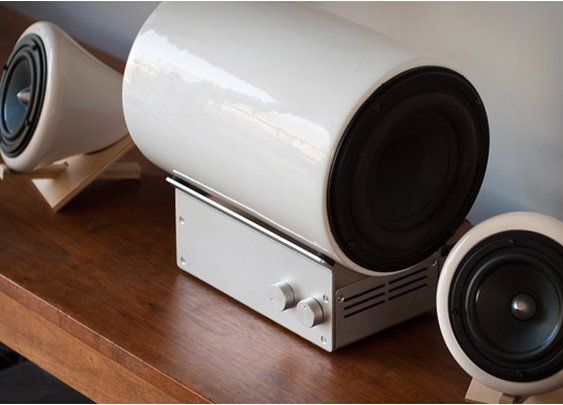 CERAMIC SPEAKER SYSTEM | BY JOEY ROTH