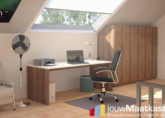 cool looking desk space