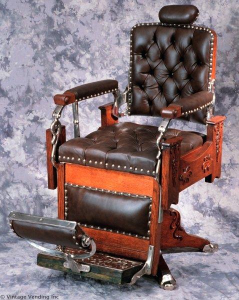 Antique Hanson Barber Chair